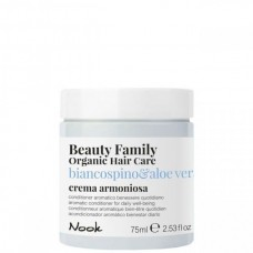 Nook Beauty Family Biancospino & Aloe Vera Crema Armoniosa - Крем-кондиционер для ежедневного ухода 75мл