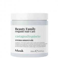 Nook Beauty Family Castagna & Equiseto Crema Amorevole - Крем-кондиционер для ломких и секущихся волос 250мл