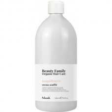Nook Beauty Family Maqui & Cocco Crema Souffle - Крем-кондиционер восстанавливающий для сухих и поврежденных волос 1000мл