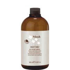 Nook BEAUTY FAMILY Milk Sublime Shampoo - Шампунь для поврежденных волос Ph 5,5, 500мл