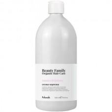 Nook Beauty Family Romice & Dattero Crema Suprema - Восстанавливающий крем-кондиционер для химически обработанных волос 1000мл