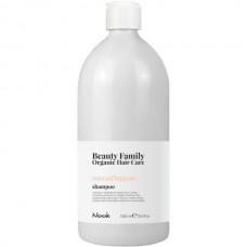 Nook Beauty Family Zucca & Luppolo Shampoo - Шампунь разглаживающий для прямых и вьющихся волос 1000мл