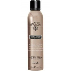 "Nook MAGIC ARGANOIL RESTRUCTURING FIXING MOUSSE - Восстанавливающий мусс для укладки волос средней фиксации ""Магия Арганы"" 250мл"