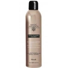 """Nook MAGIC ARGANOIL SECRET VOLUMIZING HAIR SPRAY - Секретный лак для объемных укладок волос """"Магия Арганы"""" 400мл"""