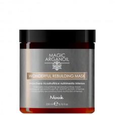Nook MAGIC ARGANOIL WONDERFUL REBUILDING MASK - Реконструирующая интенсивно-питательная маска 250мл