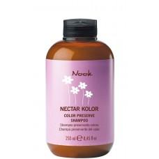Nook NERTAR COLOR PRESERVE SHAMPOO - Шампунь для окрашенных волос «Защита цвета» 250мл