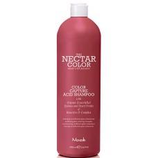 Nook THE NECTAR COLOR CAPTURE ACID SHAMPOO - Шампунь фиксирующий для волос после окрашивания 1000мл