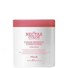 Nook THE NECTAR COLOR PRESERVE CONDITIONER FINE - Кондиционер для ухода за ТОНКИМИ окрашенными волосами 250мл