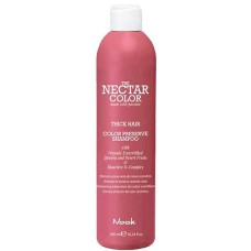 Nook THE NECTAR COLOR PRESERVE SHAMPOO THICK - Шампунь для ухода за окрашенными ПЛОТНЫМИ волосами 300мл