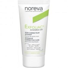 Noreva Exfoliac Acnomega 200 - Интенсивный корректирующий крем Акномега 200, 30мл