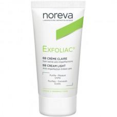 Noreva Exfoliac BB Crème Claire - ББ-Крем для проблемной кожи тон СВЕТЛЫЙ 30мл