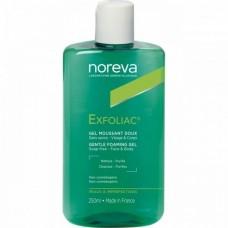 Noreva Exfoliac GEL Moussant DOUX - Мягкий очищающий гель для лица 250мл