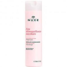 NUXE Cleansing Eau Demaquillante Micellaire - Мицеллярная вода с лепестками роз для лица и глаз 200мл