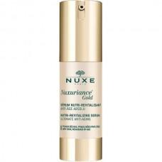 NUXE Nuxuriance Gold SERUM - Укрепляющая сыворотка для лица Омолаживающая 30мл