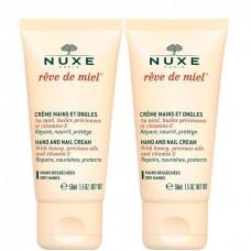 NUXE Reve De Miel CREME MAINS - Набор Крем для рук и ногтей Питательный 2 х 50мл