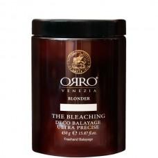 ORRO BLONDER BLEACHING DECO BALAYAGE - Система обесцвечивания основана на каолине 450гр