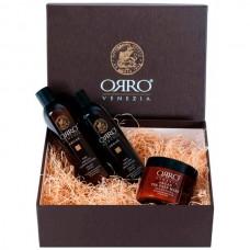 ORRO HOLIDAY SET ARGAN - Подарочный набор с маслом АРГАНЫ (Шампунь + Кондиционер + Маска) 250 + 250 + 250мл