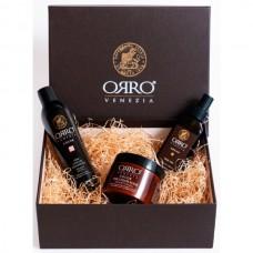 ORRO HOLIDAY SET COLOR - Подарочный набор для Окрашенных волос (Шампунь + Маска + Аргановое масло) 250 + 250 + 100мл