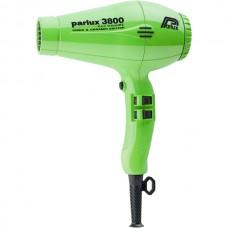 Parlux Hair Dryers 3800 ECO Friendly Ionic & Ceramic 2100W Green - Профессиональные фен 2100 Вт ЗЕЛЕНЫЙ 1шт