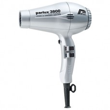 Parlux Hair Dryers 3800 ECO Friendly Ionic & Ceramic 2100W Silver - Профессиональные фен 2100 Вт СЕРЕБРО 1шт