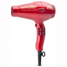 Parlux Hair Dryers 3800 ECO Friendly Ionic & Ceramic 2100W Red - Профессиональные фен 2100 Вт КРАСНЫЙ 1шт
