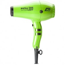 Parlux Hair Dryers 385 POWER LIGHT Ionic & Ceramic 2150W Green - Профессиональные фен 2150 Вт ЗЕЛЁНЫЙ 1шт