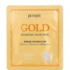 PETITFEE GOLD hydrogel mask pack - Маска для лица с ЗОЛОТОМ 32гр