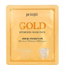PETITFEE GOLD hydrogel mask pack - Маска для лица с ЗОЛОТОМ 5 х 32гр