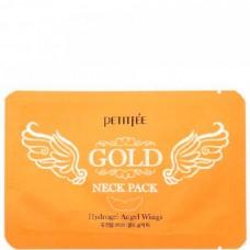 PETITFEE GOLD neck pack - Маска для шеи с ЗОЛОТОМ 5 х 20гр