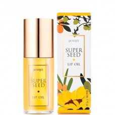 PETITFEE Super seed lip oil - Масло для губ с комплексом семенных масел 5мл