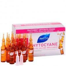 PHYTO PHYTOCYANE Densifying Treatment Serum - Средство против реакционного выпадения волос 12 х 7.5мл