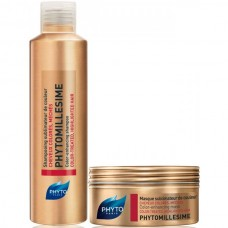 PHYTO PHYTOMILLESIME Set - Набор для красоты окрашенных волос (шампунь + маска) 50 + 50мл