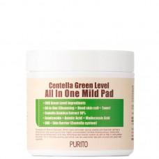 PURITO Centella Green Level All In One Mild Pad - Пилинг пэды с BHA и центеллой 70шт