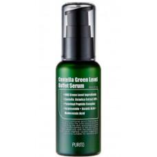 PURITO Centella Green Level Buffet Serum - Увлажняющая сыворотка для восстановления кожи с центеллой азиатской 60мл