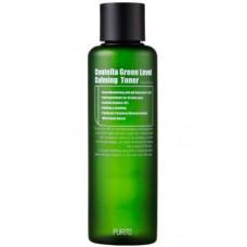 PURITO Centella Green Level Calming Toner - Бесспиртовой успокаивающий тонер для лица с центеллой Азиатской 200мл