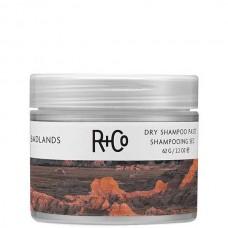 R+Co BADLANDS Dry Shampoo Paste - ПУСТОШЬ Сухой шампунь-паста для волос Очищающий Моделирующий 62гр