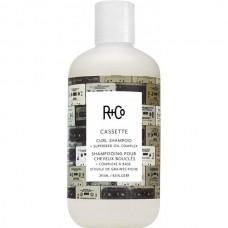 R+Co CASSETTE Curl Shampoo - КАССЕТА Шампунь для вьющихся волос с комплексом масел 241мл