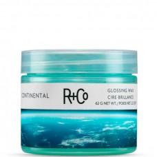 R+Co CONTINENTAL Glossing Wax - КОНТИНЕНТАЛЬ Воск-бальзам для волос Моделирующий 62гр
