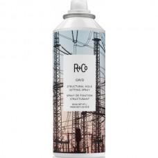 R+Co GRID Structural Setting Spray - СЕТЬ Спрей для волос Текстурирующий 193мл