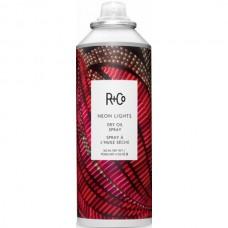 R+Co NEON LIGHTS Dry Oil Spray - НЕОНОВЫЙ СВЕТ Сухое масло-спрей для волос ПИТАТЕЛЬНОЕ 162мл