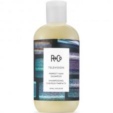 R+Co TELEVISION Perfect Hair Shampoo - ПРЯМОЙ ЭФИР Шампунь для совершенства волос 241мл