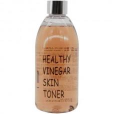 REALSKIN Healthy Vinegar Skin Toner BLACK BEAN - Тонер для лица Восстанавливающий СОЕВЫЕ БОБЫ 300мл