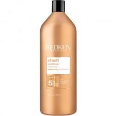 REDKEN all soft conditioner - Кондиционер с аргановым маслом для сухих и ломких волос 1000мл