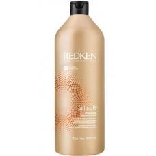 REDKEN all soft shampoo - Шампунь с аргановым маслом для сухих и ломких волос 1000мл