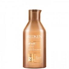 REDKEN all soft shampoo - Шампунь для питания и смягчения волос 300мл