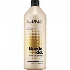 REDKEN Blonde Idol Shampoo - Бессульфатный шампунь, восстанавливающий баланс pH, специально для волос блонд 1000мл