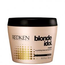 REDKEN Blonde Idol Mask - Маска для питания и смягчения волос оттенка блонд 250 мл
