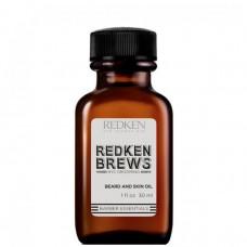 REDKEN BREWS Beard and Skin Oil - Масло для бороды и кожи лица 30мл