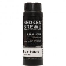 REDKEN BREWS Color Camo Black Natural - Камуфлирующая помада-паста ЧЁРНАЯ 100мл