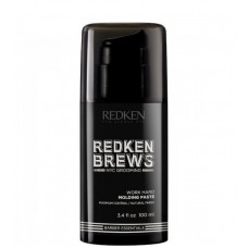 REDKEN BREWS Work Hard Molding Paste - Моделирующая паста для волос 100мл